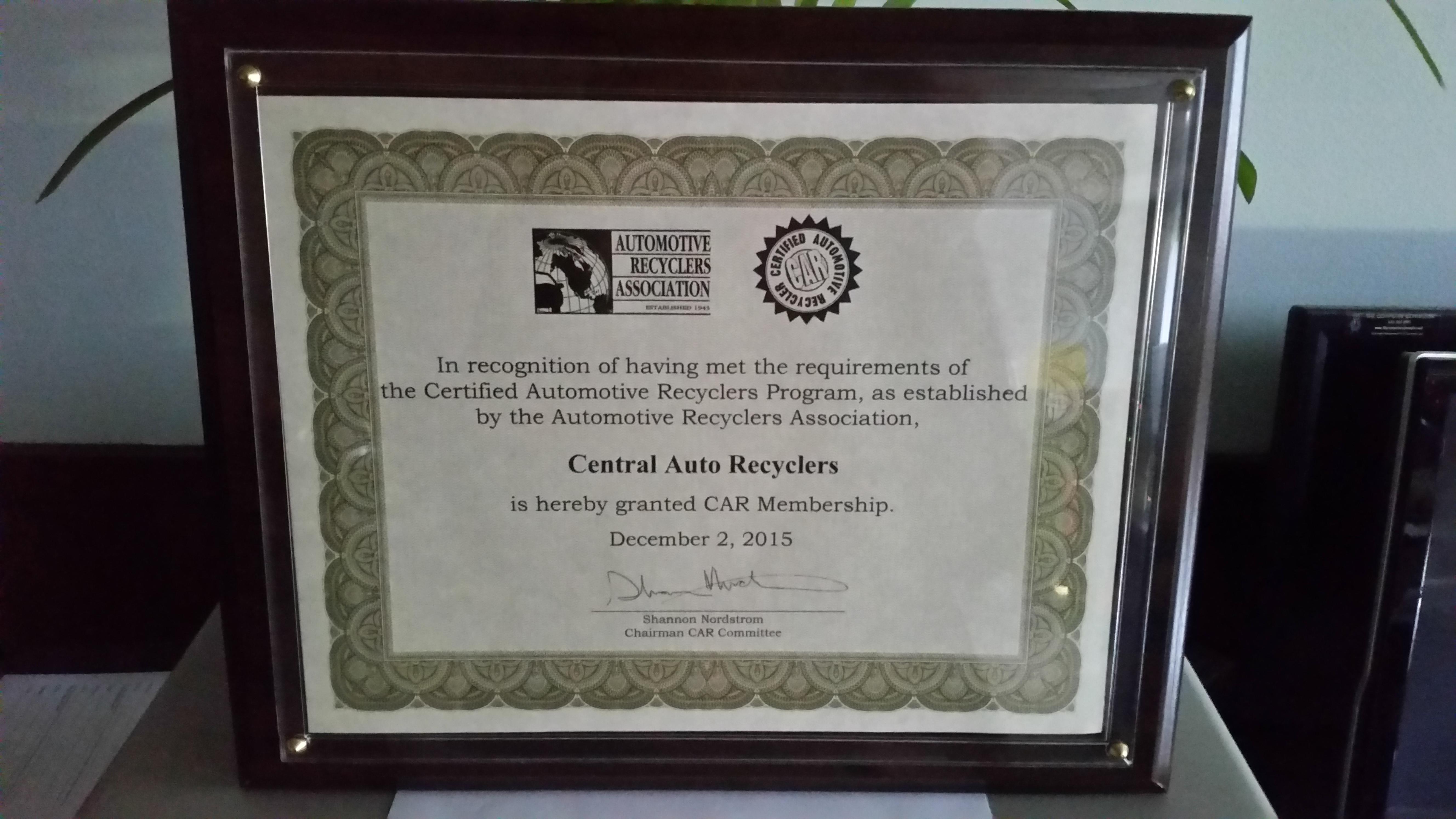 ara-certificate